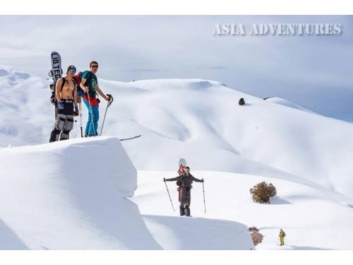 Вертолетный тур Ски туры, бэк кантри, фри райд в Узбекистане