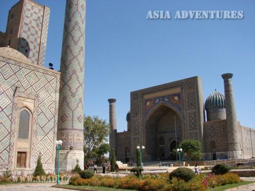 Вертолетный тур Весь Узбекистан