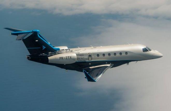 Praetor-500 и Praetor-600 – новинки от Embraer