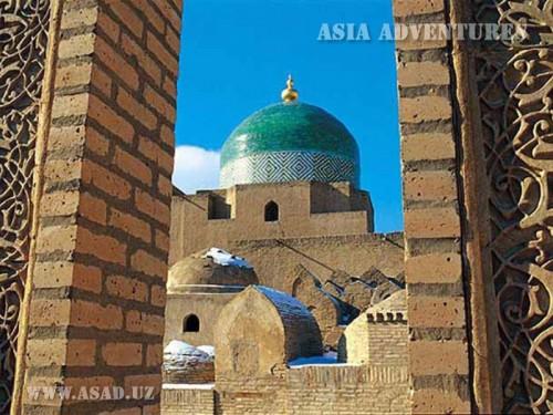 Вертолетный тур Классический Узбекистан