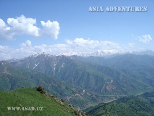Вертолетный тур В горы западного Тянь-шаня