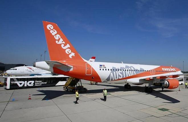 Компания EasyJet Europe – крупнейший авиаперевозчик Австрии