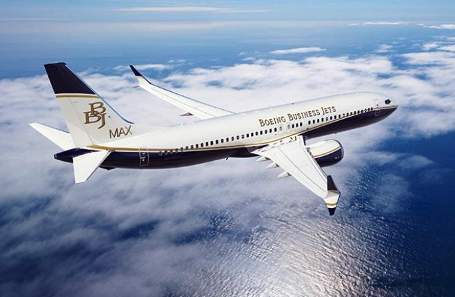 Прошла поставка BBJ-737MAX первому заказчику