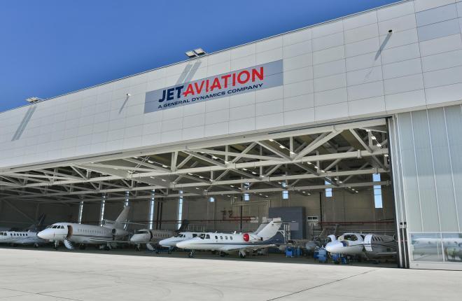 Австрийская база Jet Aviation получила сертификат Росавиации