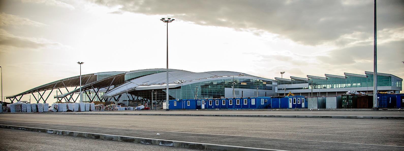 Новый аэродром «Платов» в Ростове-на-Дону
