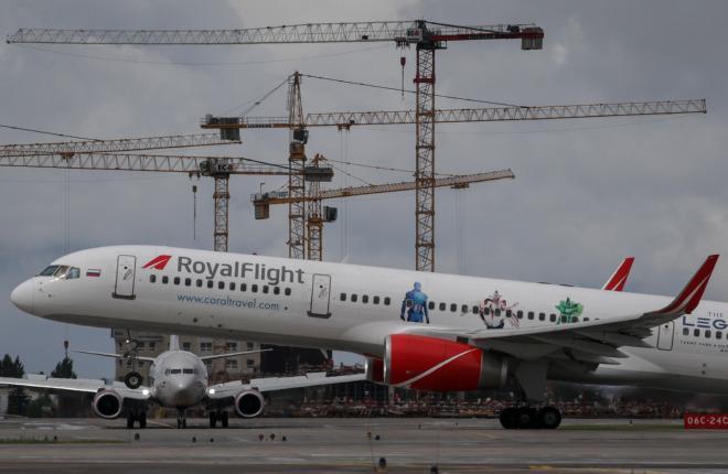 Boeing-757200 авиаперевозчика Royal Flight пройдет C-check в РФ