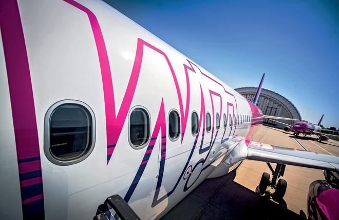 Wizz Air намерен увеличить авиапарк до 300 бортов