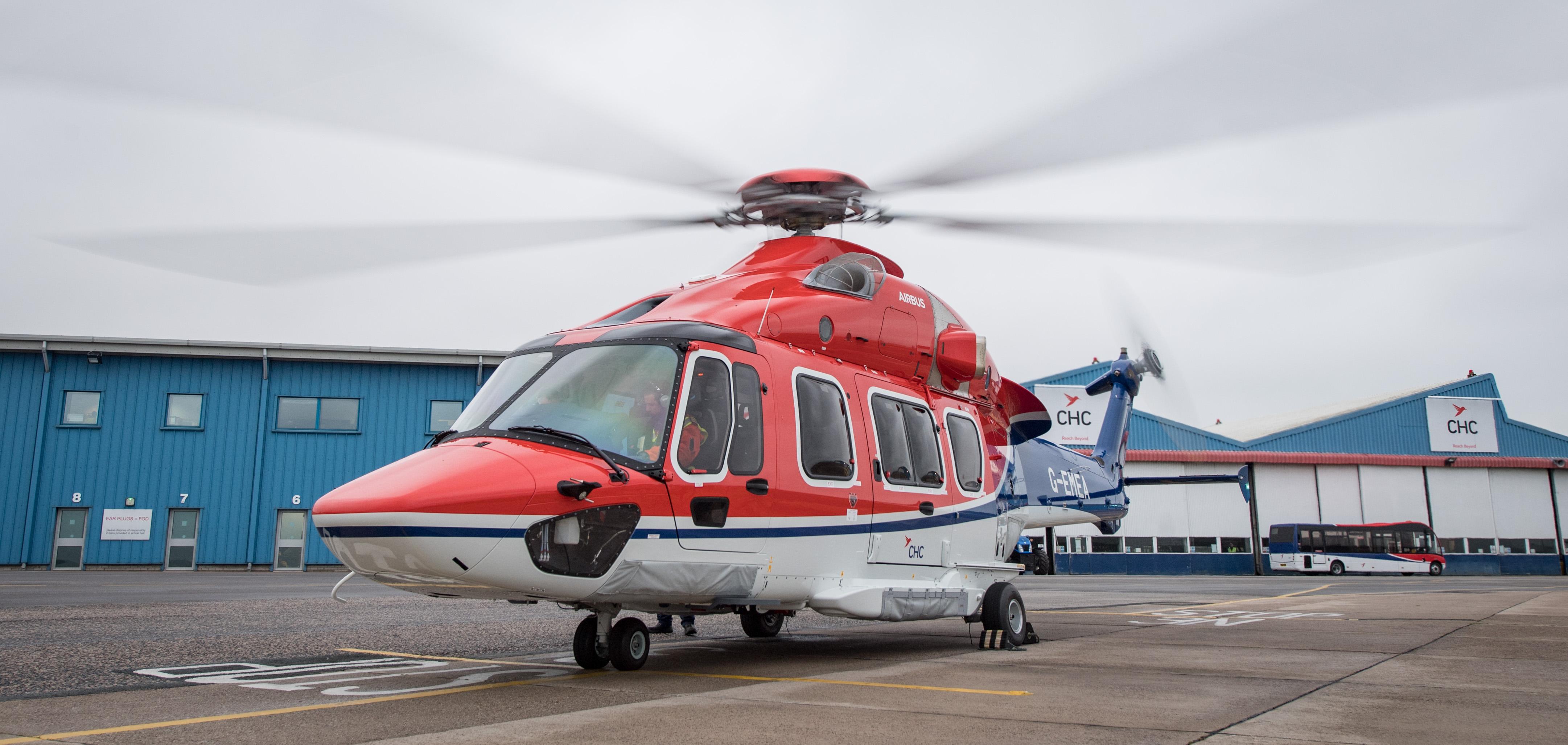 CHC Helicopter внедряет систему мониторинга авиапарка AW-139